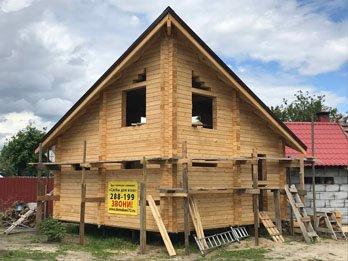 Большой двухэтажный дом для семьи - наши работы