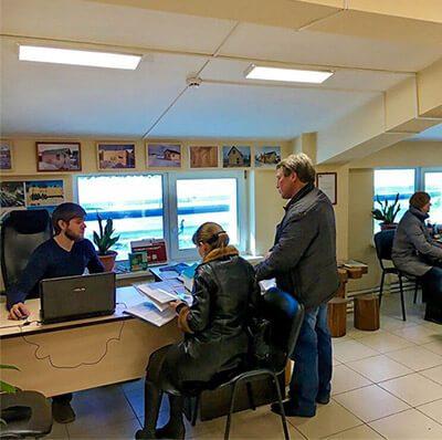 Офис в Тюмени менеджер
