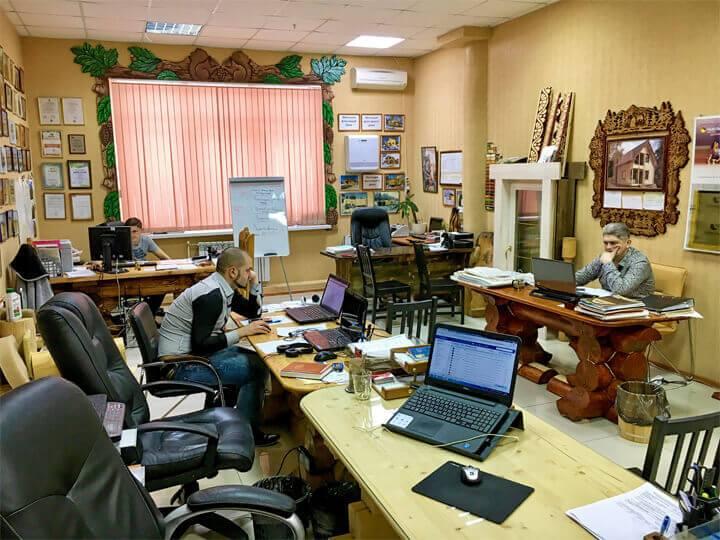 Офис в Сургуте интерьер