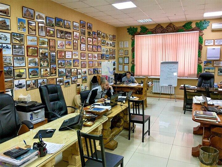 Офис в Сургуте интерьер 1