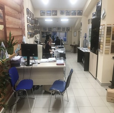 Офис в Тюмени интерьер
